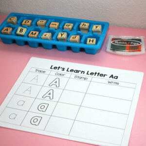 abc learning stamp trace print sq1